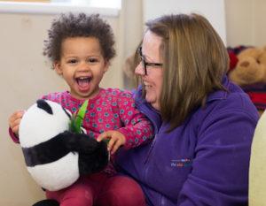 Baby Massage with nursery staff