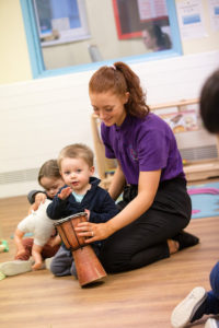 Boogie Beats playtime at nursery